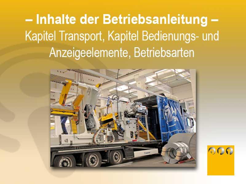 Transport Anzeigeelemente