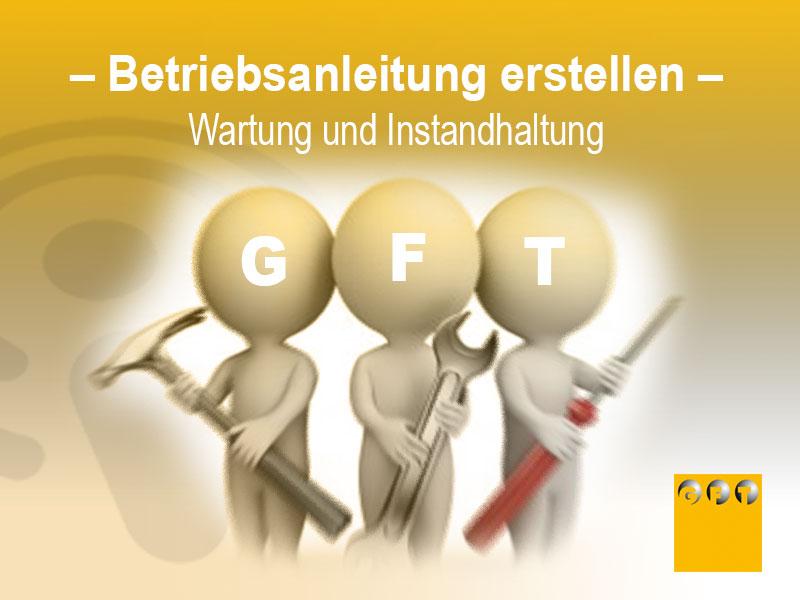 Betriebsanleitung Erstellen - Wartung Und Instandhaltung