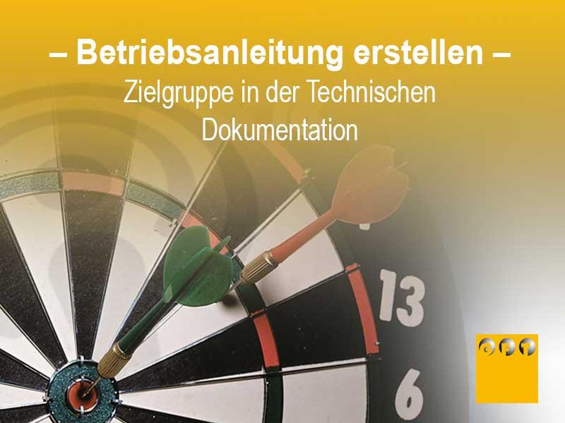 Betriebsanleitung - Zielgruppen In Der Technischen Dokumentation