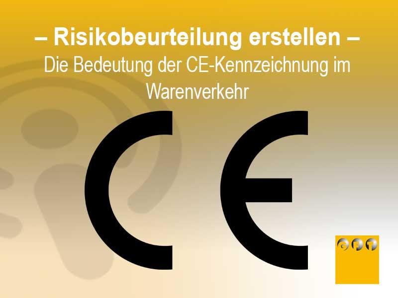 CE Kennzeichnung Konformitätserklärung