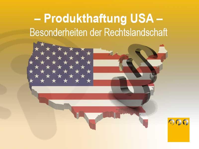 Produkthaftung USA