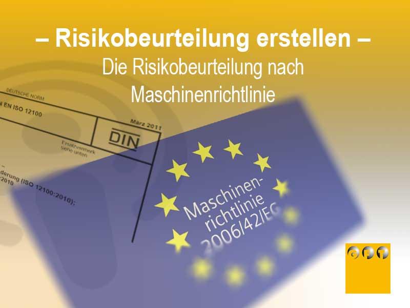 Risikobeurteilung Nach Maschinenrichtlinie