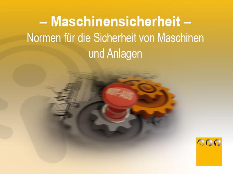 Normen - Sicherheit Maschinen Und Anlagen