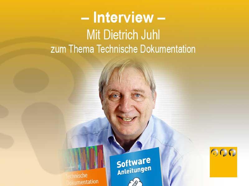 Technische Dokumentation - Interview Mit Dietrich Juhl