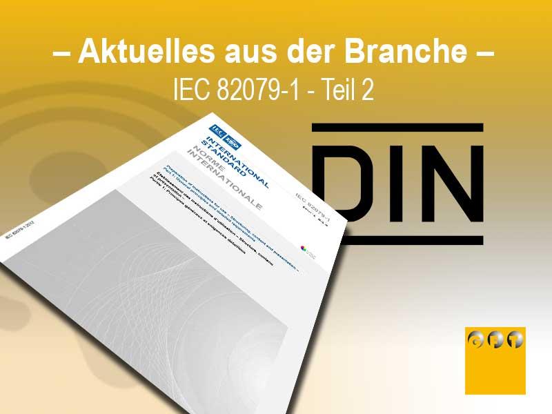 Norm IEC-82079-1