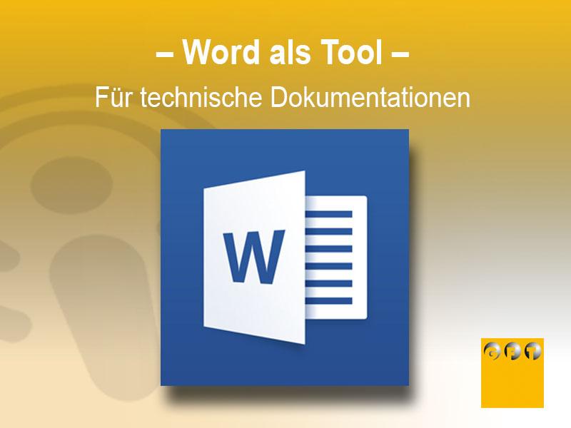 RS #002 Word Als Tool Für Technische Dokumentationen