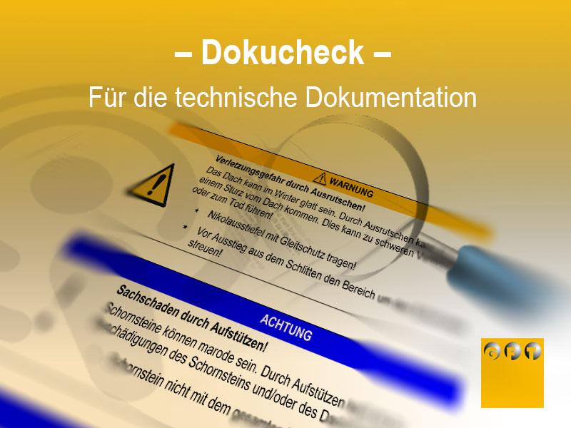 Dokucheck Für Die Technische Dokumentation