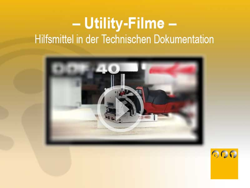 STD #004 Utility-Filme Als Hilfsmittel In Der Technischen Dokumentation
