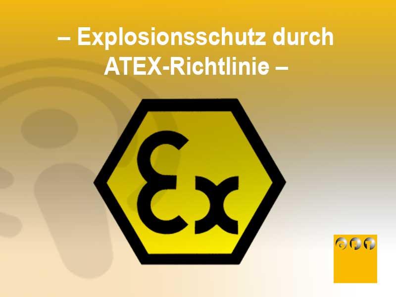 ATEX #001 Explosionsschutz Durch Die ATEX-Richtlinie