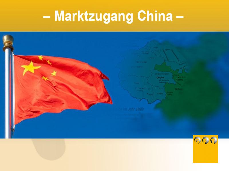 Marktzugang-China