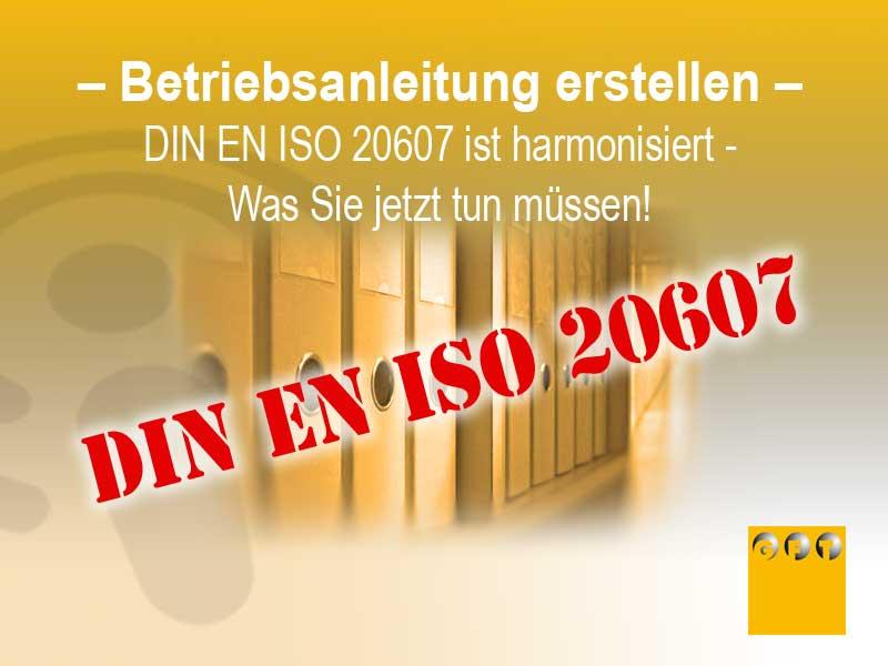 BA #022 DIN EN ISO 20607 Als Harmonisierte Norm – Was Sie Jetzt Beachten Müssen!