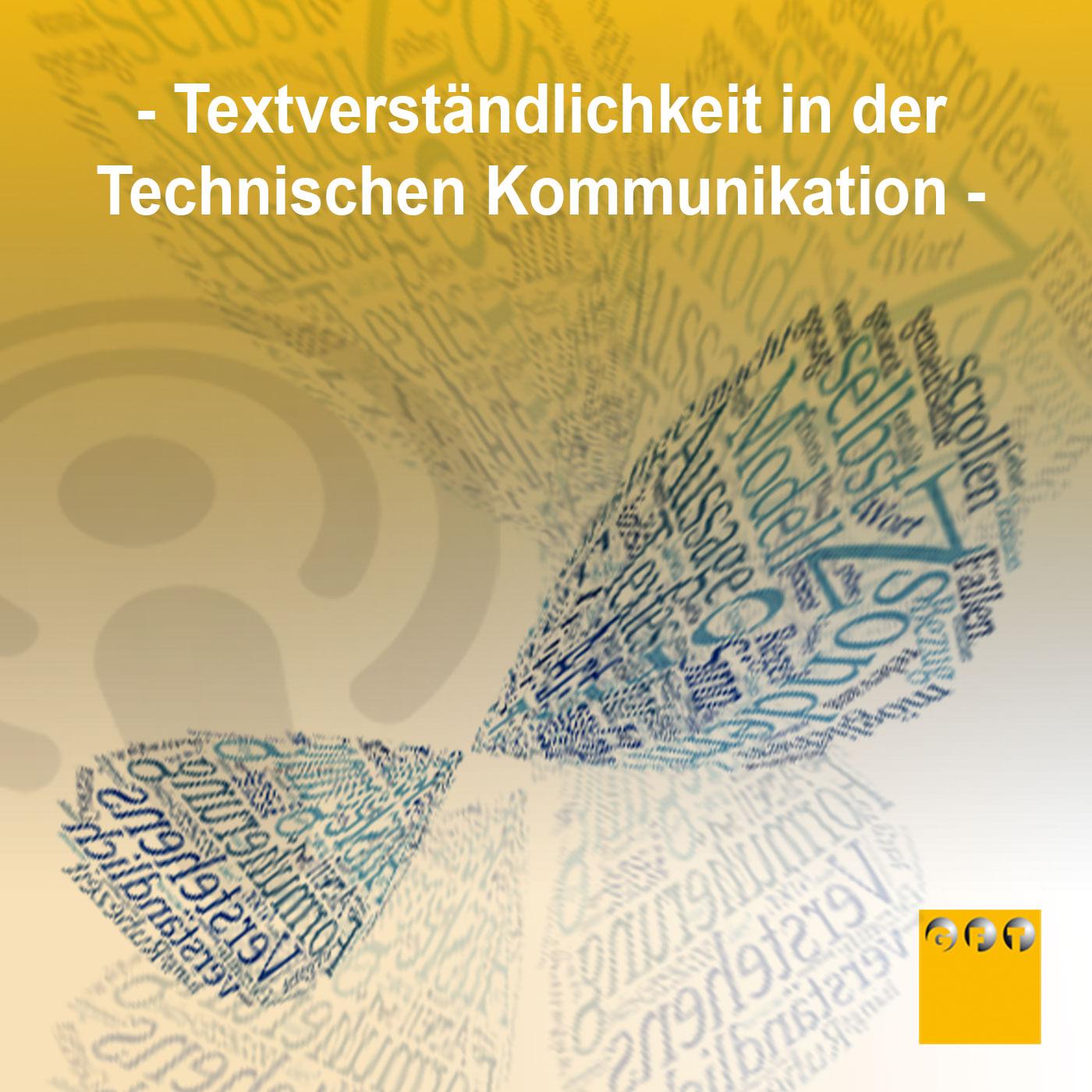 Textverständlichkeit Technischen Kommunikation
