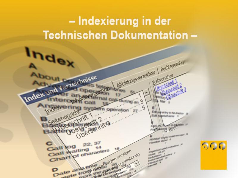 Extra #016 Indexierung In Der Technischen Dokumentation