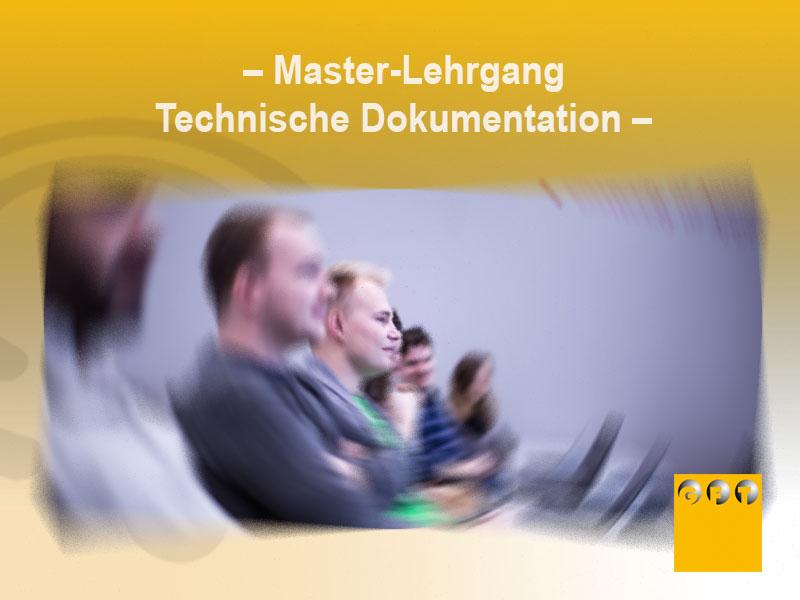 Extra #017 Master-Lehrgang Technische Dokumentation