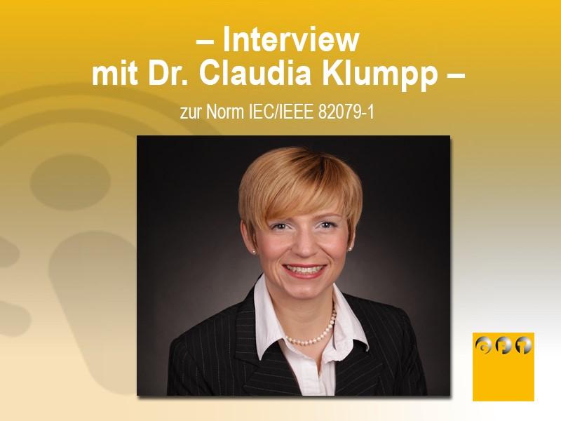 Interview-Claudia-Klumpp-Norm IEC-IEEE-82079-1