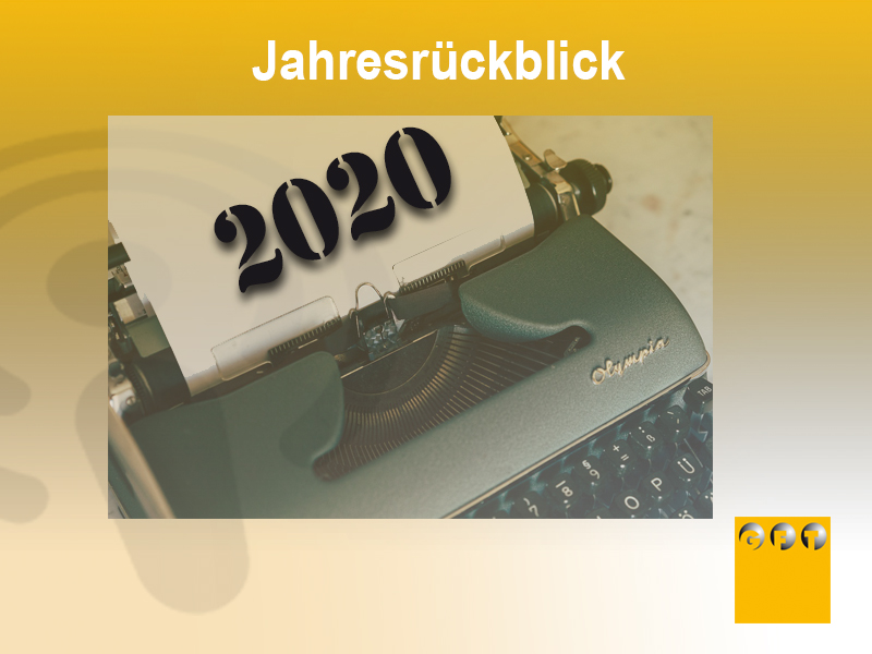 Extra #018 Jahresrückblick 2020 Und Ausblick In Die Zukunft