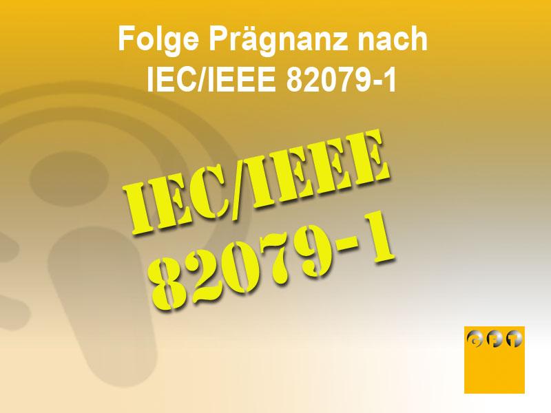 NI #011 Prinzip Der Prägnanz Nach IEC/IEEE 82079-1