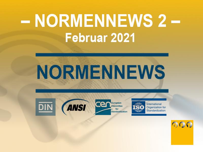 NN #002 News Zu Normen Und Richtlinien – Februar 2021