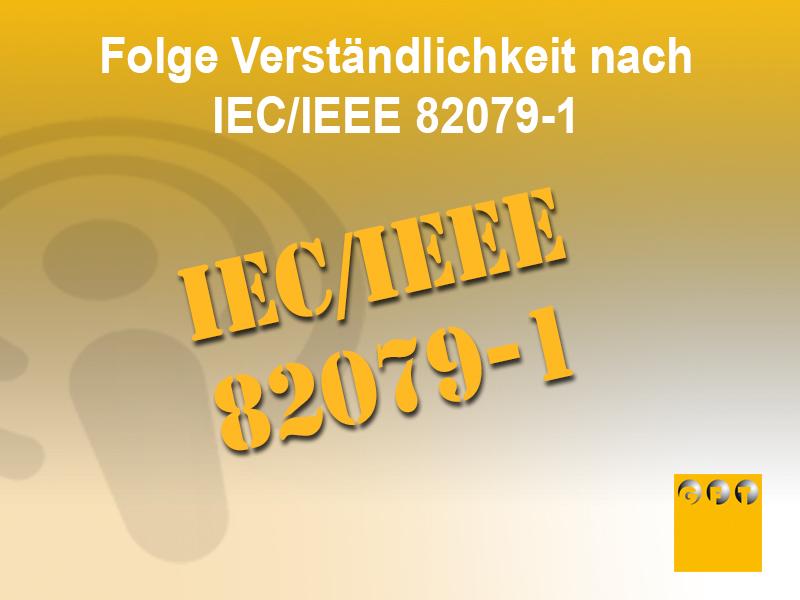 NI #014 Prinzip Der Verständlichkeit Nach IEC/IEEE 82079-1