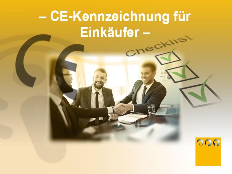 CE-Kennzeichnung Einkauf